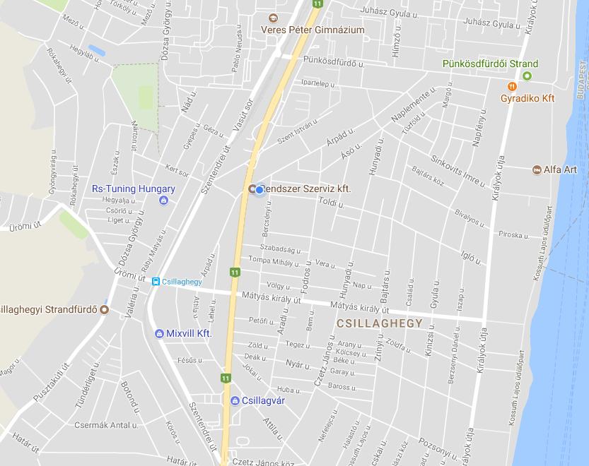 térkép kapcsolat
