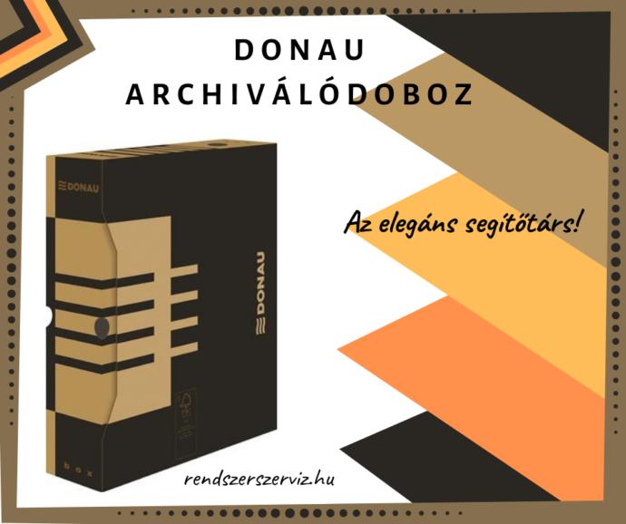 DONAU archiválódoboz
