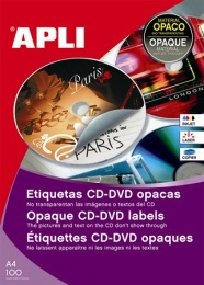 Etikett cd dvd