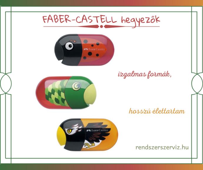 FABER-CASTELL hegyezők