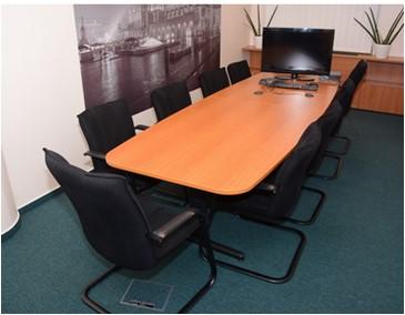 tárgyalóasztal 110x330